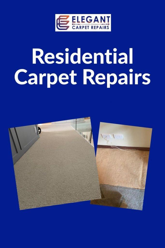 Local home carpet repairs