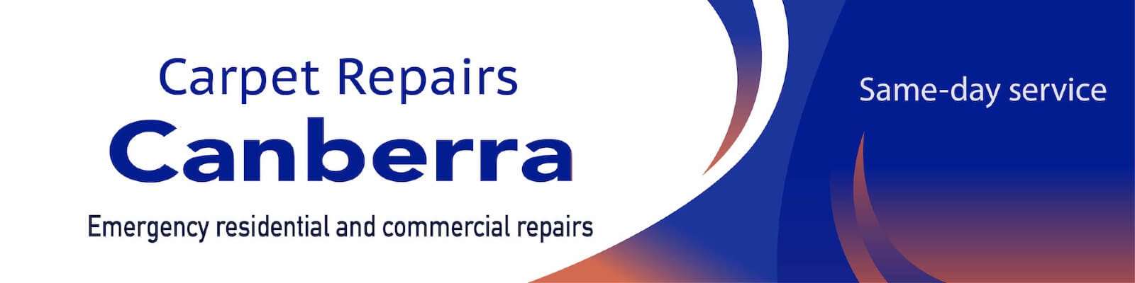 Carpet Repairs Canberra Elegant banner